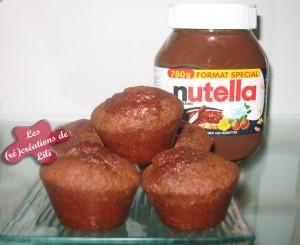 Muffins-au-nutella